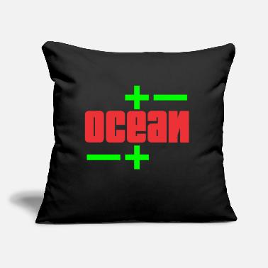 "Ocean Ocean - Throw Pillow Cover 18"" x 18"""