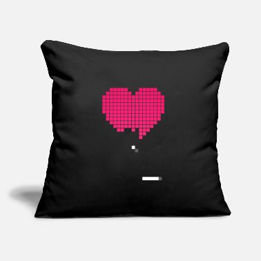 "Beat Em Up Retrogaming pixels - Throw Pillow Cover 18"" x 18"""
