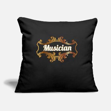 "Musicians Musician - Throw Pillow Cover 18"" x 18"""