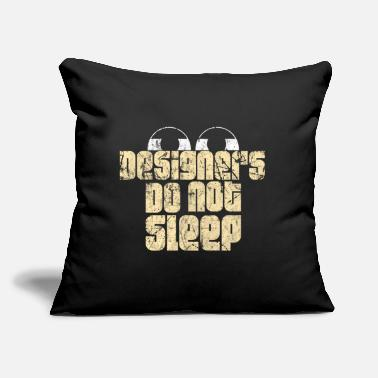 "Designer Designer - Throw Pillow Cover 18"" x 18"""