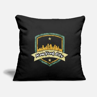 "New York City New York City - Throw Pillow Cover 18"" x 18"""