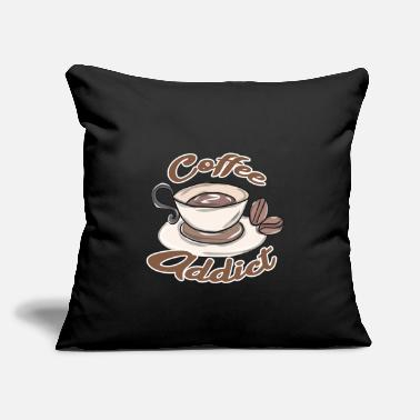 "Coffee Bean Coffee bean - Throw Pillow Cover 18"" x 18"""