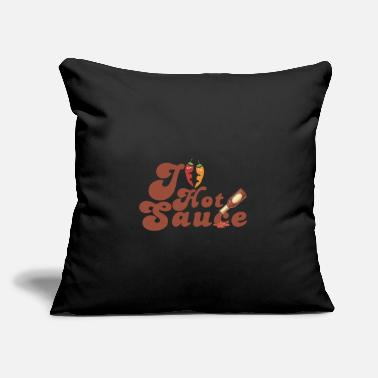 "Food Food - Throw Pillow Cover 18"" x 18"""