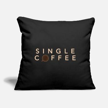"Coffee Single coffee baby gift boyfriend girlfriend - Throw Pillow Cover 18"" x 18"""