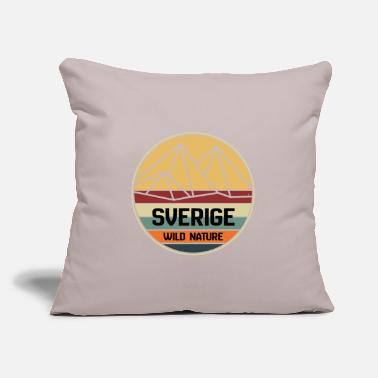 "Sweden Sweden sweden - Throw Pillow Cover 18"" x 18"""