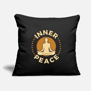 "meditation - Throw Pillow Cover 18"" x 18"""