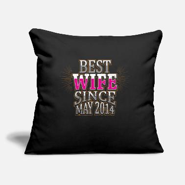 "Wife wife - Throw Pillow Cover 18"" x 18"""