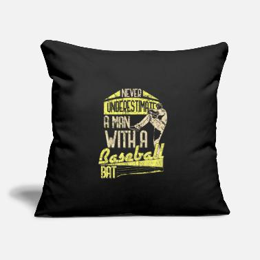 "Baseball Sayings Baseball Saying - Throw Pillow Cover 18"" x 18"""