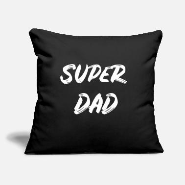 "Super Beer Father's Day Best Daddy Super Dad Beer - Throw Pillow Cover 18"" x 18"""