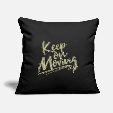 "Posit Phrase Sayings Funny Gift Idea - Throw Pillow Cover 18"" x 18"""
