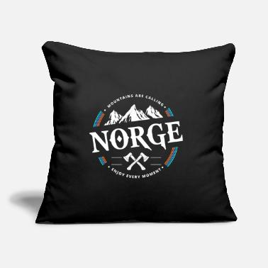 "Norway Norway norway - Throw Pillow Cover 18"" x 18"""