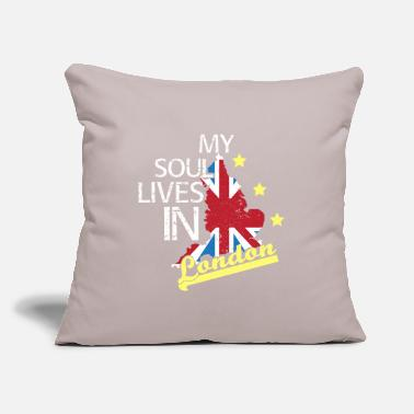 "Uk England UK - Throw Pillow Cover 18"" x 18"""