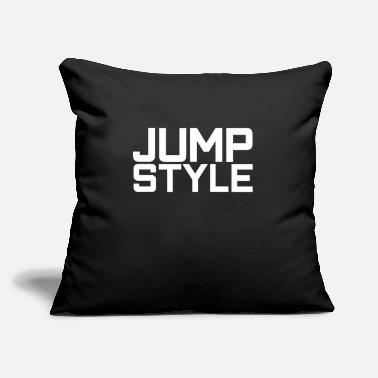 "Jumpstyle jumpstyle - Throw Pillow Cover 18"" x 18"""