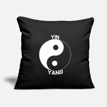 "Yin Yin Yang - Throw Pillow Cover 18"" x 18"""