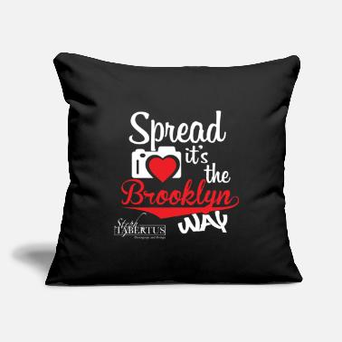 "Spread Love - Throw Pillow Cover 18"" x 18"""