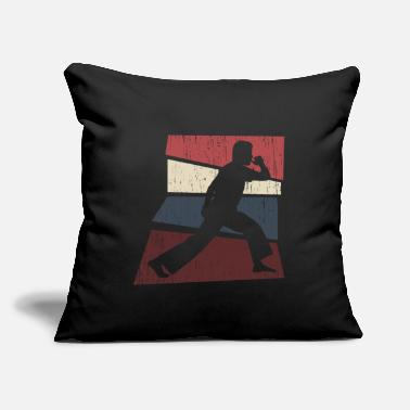 "Dance Capoeira Retro - Throw Pillow Cover 18"" x 18"""
