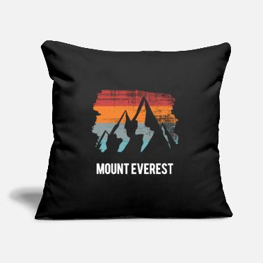 "Mounting mount everest - Throw Pillow Cover 18"" x 18"""