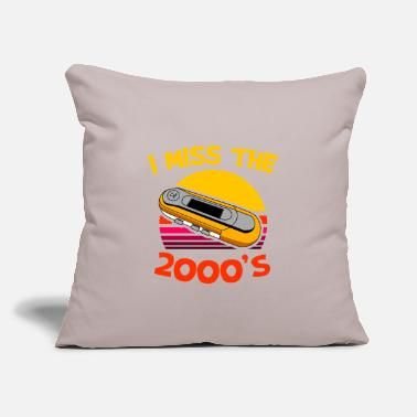 "Mp3 mp3 Player - Throw Pillow Cover 18"" x 18"""