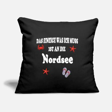 "North Sea North sea - Throw Pillow Cover 18"" x 18"""