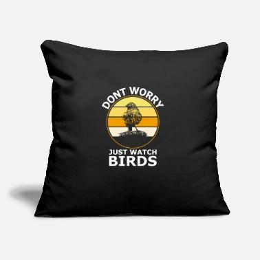 "Bird Birds bird - Throw Pillow Cover 18"" x 18"""