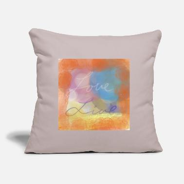 "Love live - Throw Pillow Cover 18"" x 18"""