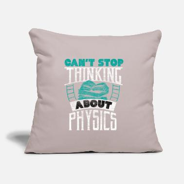 "Atom Physics school intelligence gift idea - Throw Pillow Cover 18"" x 18"""