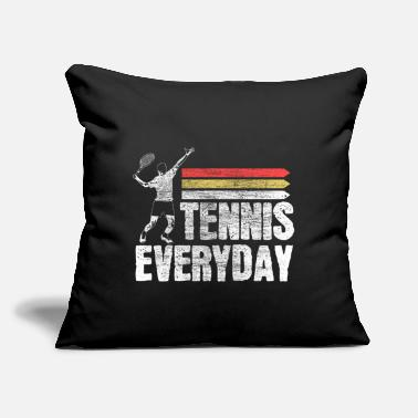 "Game Ball Tennis tennis player fitness Gift - Throw Pillow Cover 18"" x 18"""
