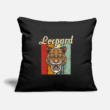 "Leopard Leopard - Throw Pillow Cover 18"" x 18"""