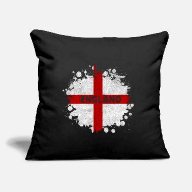 "Commonwealth England Splash Design / Gift Idea - Throw Pillow Cover 18"" x 18"""