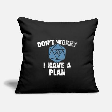 "Rpg Tabletop RPG - Throw Pillow Cover 18"" x 18"""