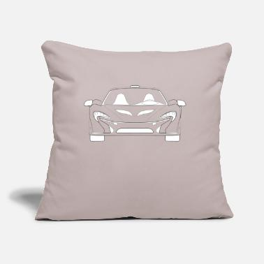 "Supercar Supercar Front - Throw Pillow Cover 18"" x 18"""