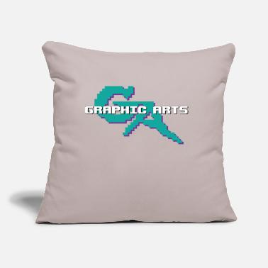 "Graphic Art Graphic Arts - Throw Pillow Cover 18"" x 18"""