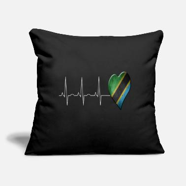"Tanzania Tanzania - Throw Pillow Cover 18"" x 18"""