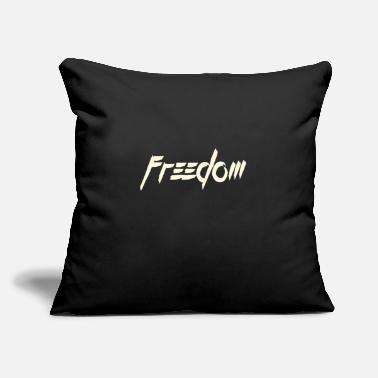 "Freedom freedom - Throw Pillow Cover 18"" x 18"""