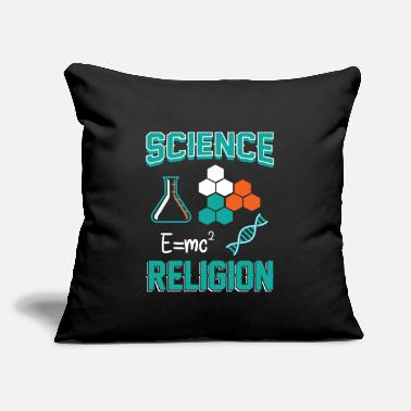 "Theology Science Theology Cool Gift - Throw Pillow Cover 18"" x 18"""