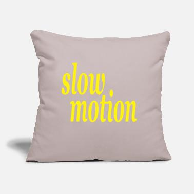 "Motion slow motion - Throw Pillow Cover 18"" x 18"""