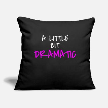 "Funny Quotes For Girls girl quote - Throw Pillow Cover 18"" x 18"""