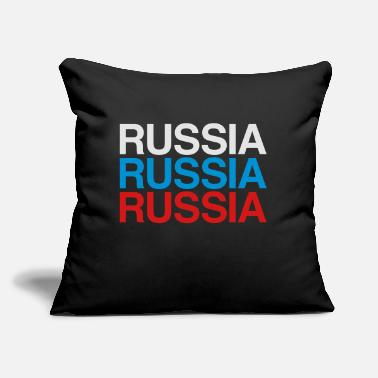 "Russia RUSSIA - Throw Pillow Cover 18"" x 18"""