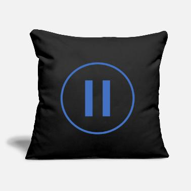 Pause Pause - Throw Pillow Cover