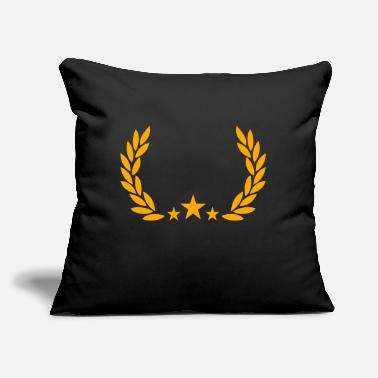"Initial initials - Throw Pillow Cover 18"" x 18"""