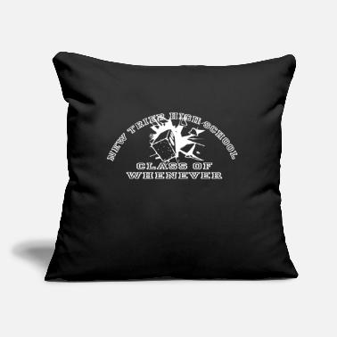 "Trier New Trier High School Graduating Class of Whenever - Throw Pillow Cover 18"" x 18"""