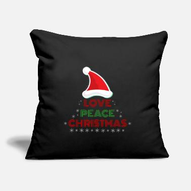 Christmas Christmas - Love, Peace, Christmas - Christmas - Throw Pillow Cover