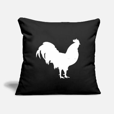 "Rooster Rooster - Throw Pillow Cover 18"" x 18"""