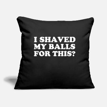 "Emo no emos - Throw Pillow Cover 18"" x 18"""