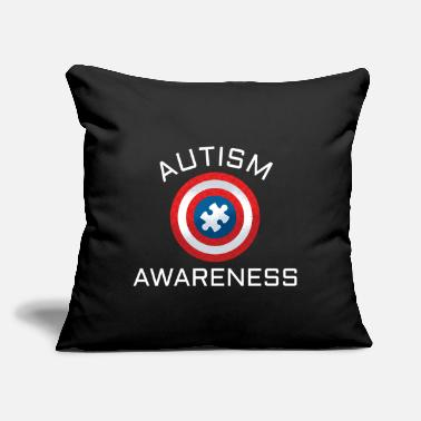 "Autism Awareness Autism awareness: autism awareness - Throw Pillow Cover 18"" x 18"""