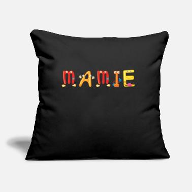 "Mami Mamie - Throw Pillow Cover 18"" x 18"""