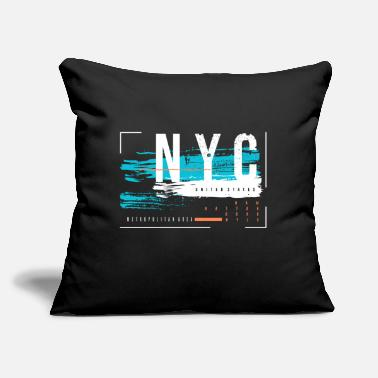 "Nyc NYC - Throw Pillow Cover 18"" x 18"""