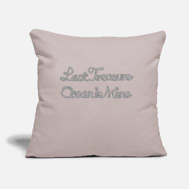 "Treasure treasure - Throw Pillow Cover 18"" x 18"""