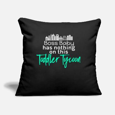 Toddler Toddler Tycoon - Throw Pillow Cover