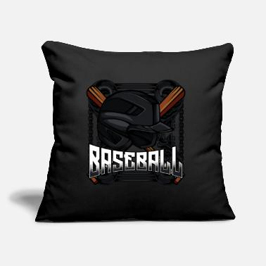 "Cool Baseball Cool Baseball Bat Baseball Player Hitter Giftidea - Throw Pillow Cover 18"" x 18"""